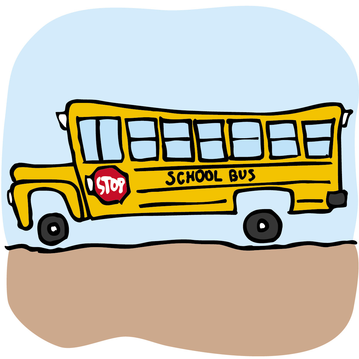 School Bus Stop Clip Art   Clipart Panda - Free Clipart Images