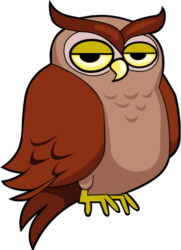 Owl Clip Art on Desert Art For Preschool