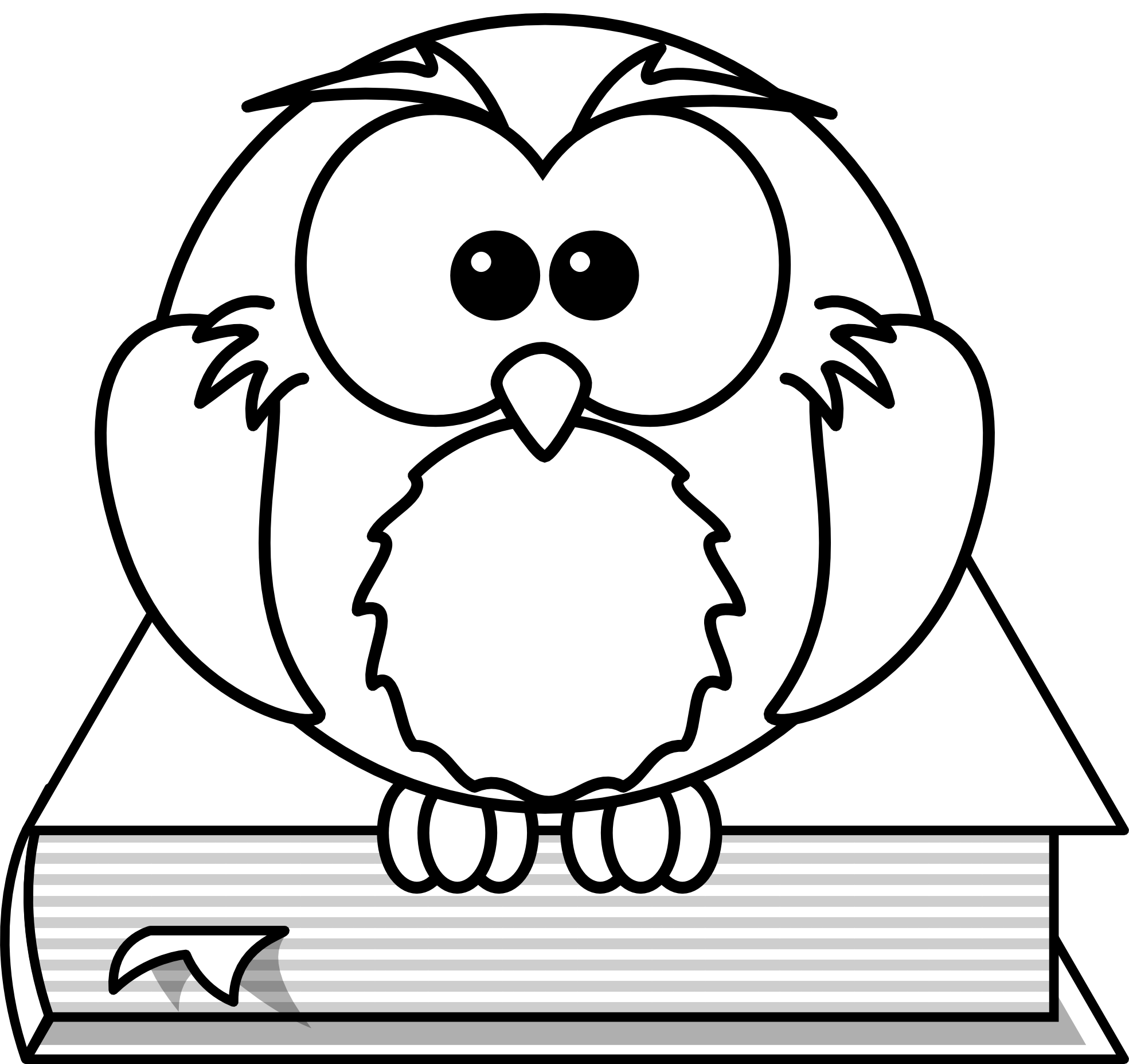 owl clipart black and white clipart panda free clipart images rh clipartpanda com owl drawings black and white clipart cute owl clipart black and white