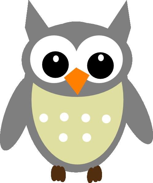 Clipart Owl Outline