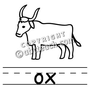 clip art basic words ox b w clipart panda free clipart images rh clipartpanda com musk ox clipart ox cart clipart