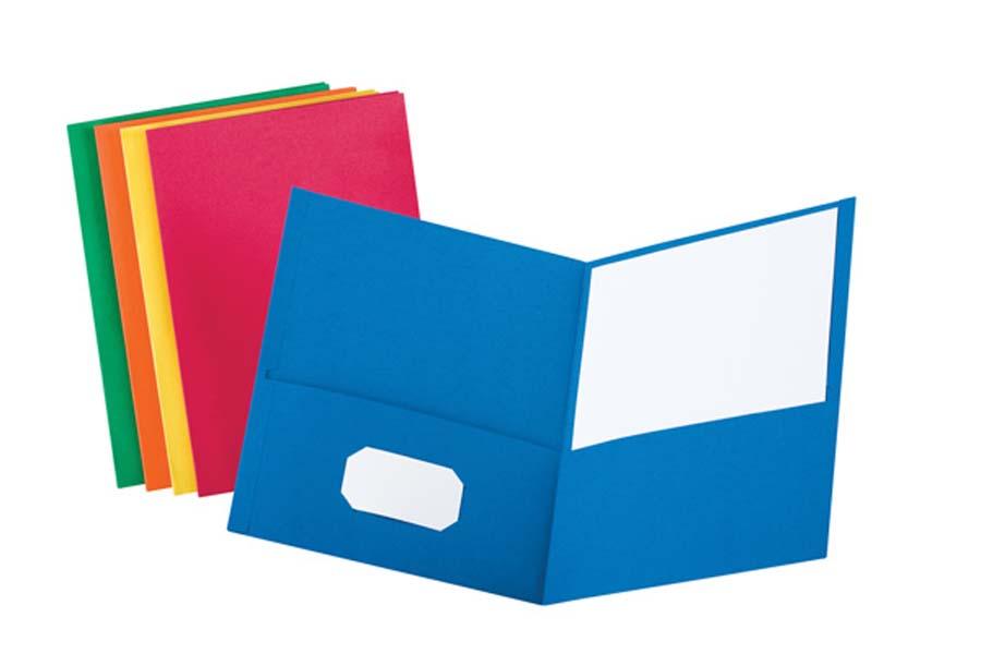 Oxford  174  Twin Pocket Folders Clip Art Pocket Folder