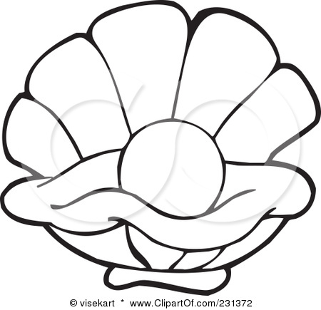 oyster-clipart-oyster-clip-art-oyster-clipart-6.jpg Open Oyster Shell With Pearl