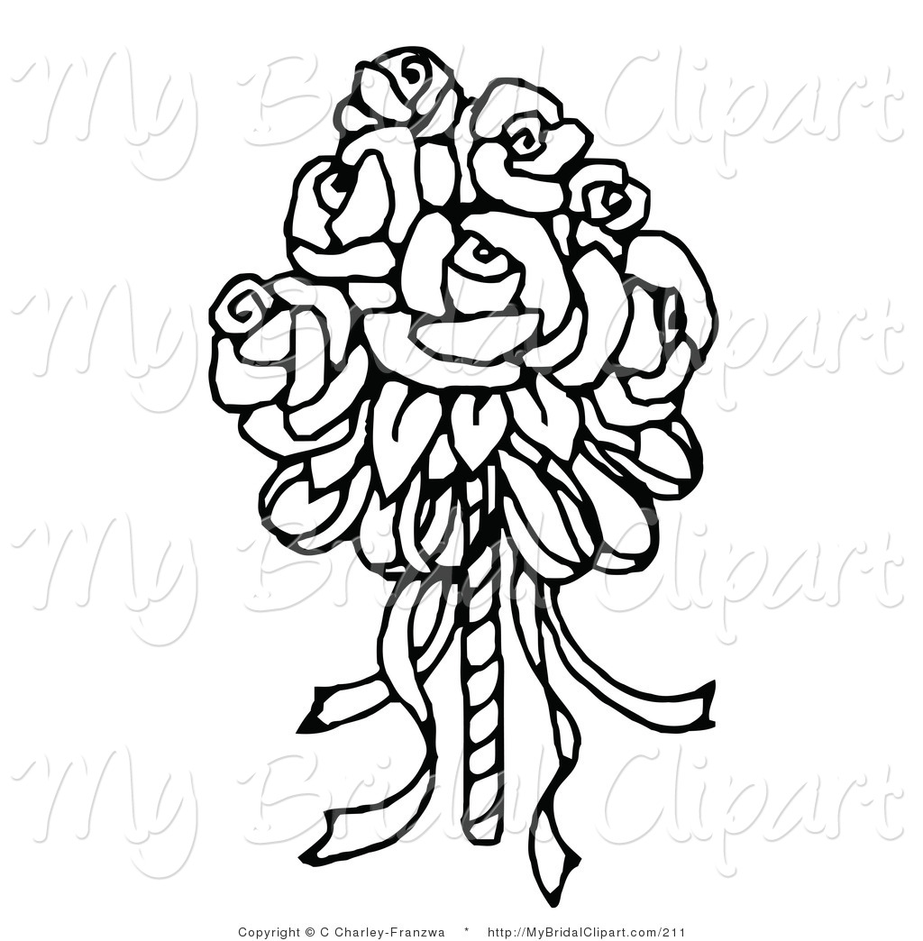 Bouquet Of Flowers Drawing | Clipart Panda - Free Clipart Images
