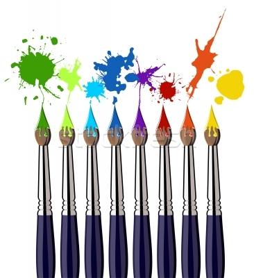 paint%20brushes%20with%20paint%20on%20them