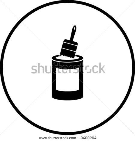 Paint Bucket Vector Paint Bucket Vector