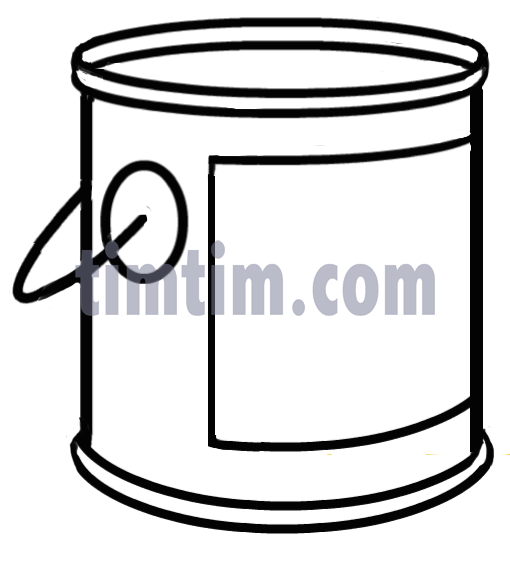 A paint bucket. | Clipart Panda - Free Clipart Images