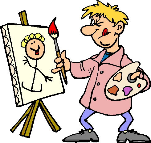 Artist Painting Clipart | Clipart Panda - Free Clipart Images