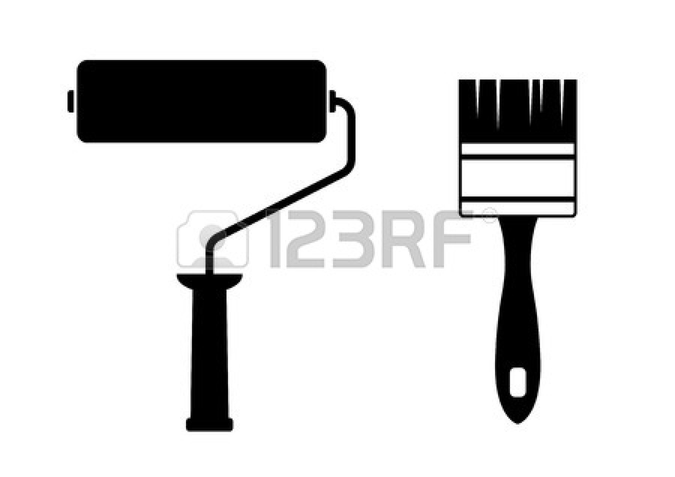 Paint Roller Vector Art & Graphics | freevector.com