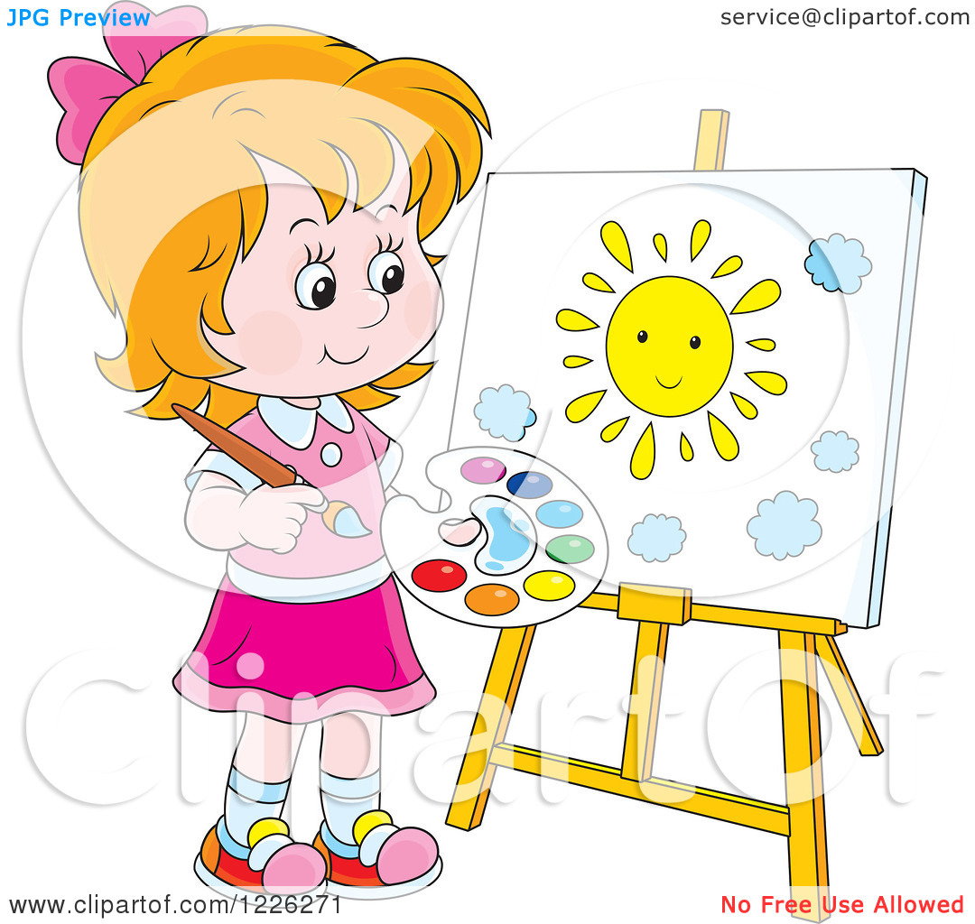 Christmas Canvas Painting For Kids