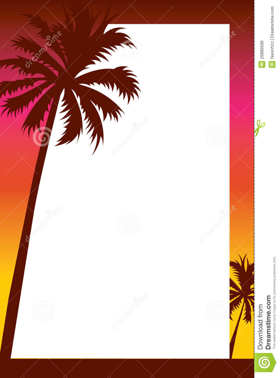 Palm Tree Beach Sunset | Clipart Panda - Free Clipart Images