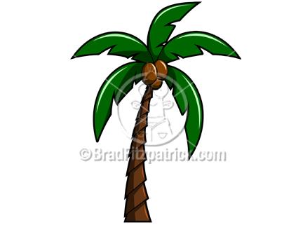 Coconut Palm Tree Clip Art Palm Tree Clip Art