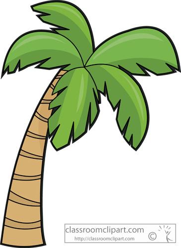 Palm Tree Leaves Clipart Palm Tree Clipart No B...