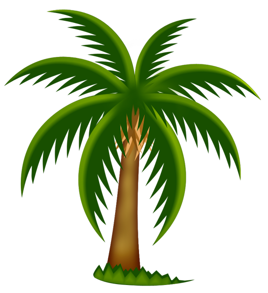 Palm Trees Clipart Palm tree clipart