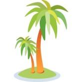 Palm Tree Clip Art Transparent Background   Clipart Panda ...