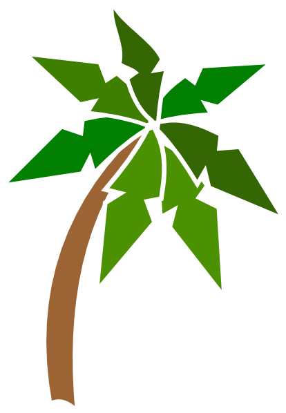 Palm Tree Coconut Clipart | Clipart Panda - Free Clipart Images