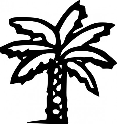 Palm Tree Sunset Clipart Clipart Panda