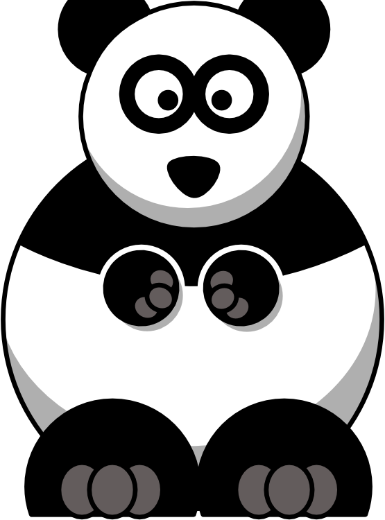 Clip Art Panda Bear Clipart panda bear clipart free images