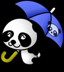 panda%20clipart%20black%20and%20white