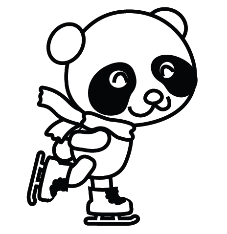 clipart info - Panda Coloring Pages