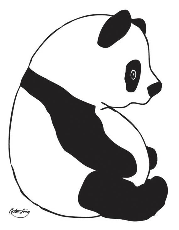 panda drawing clipart panda free clipart images
