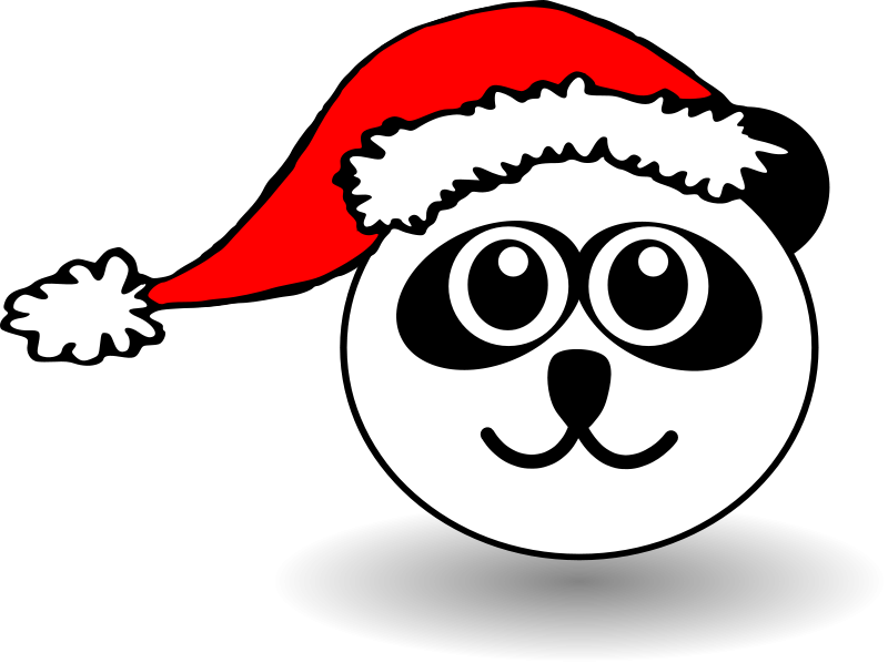 panda%20face%20clipart%20black%20and%20white