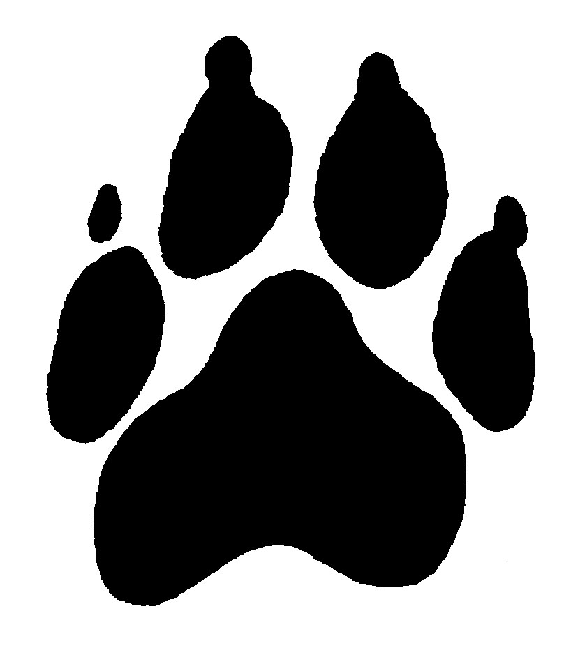 Clip Art Dog Paw Clip Art dog paw border clipart panda free images panther clipart