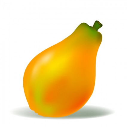 papaya clipart - photo #12