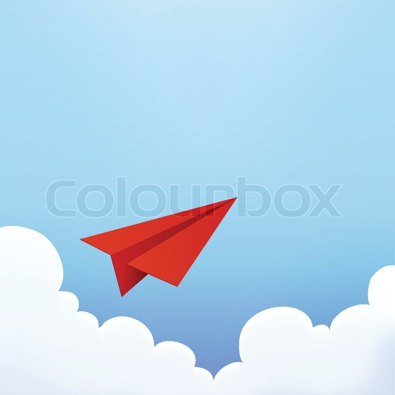 Paper Airplane Vector | Clipart Panda - Free Clipart Images