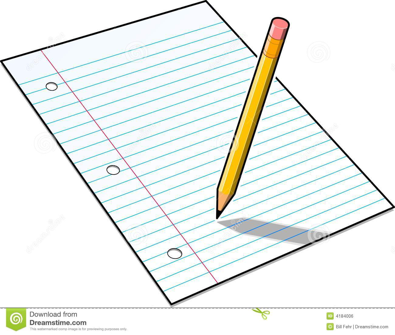 Paper And Pencil Pictures | Clipart Panda - Free Clipart ...