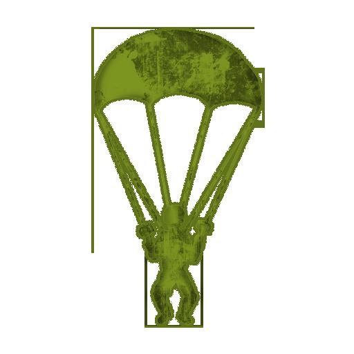 Parachute Man Clip Art