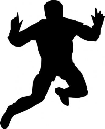 Gymnastics Clipart Silhouette Jump   Clipart Panda - Free ...
