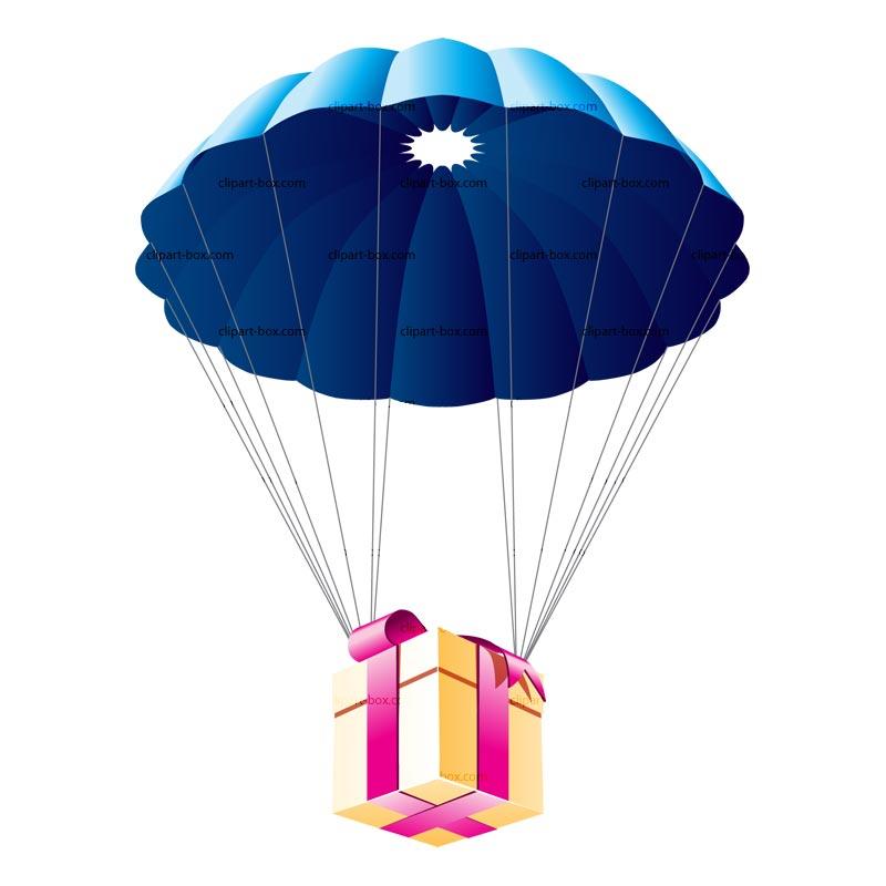cartoon clipart parachute - photo #7