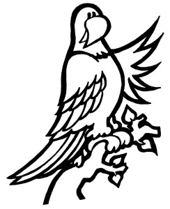 Parrot Clipart Black And White | Clipart Panda - Free ...
