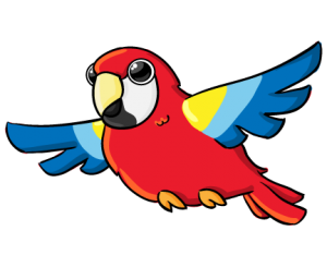 this cute parrot clip art is clipart panda free clipart images rh clipartpanda com clipart parrotfish parrot clipart flying