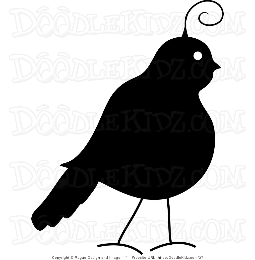 quail silhouette clip art - photo #17