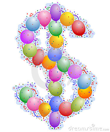 Party Balloons And Confetti | Clipart Panda - Free Clipart Images