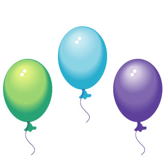 party balloons clipart clipart panda free clipart images rh clipartpanda com party balloons clipart black and white birthday party balloons clipart