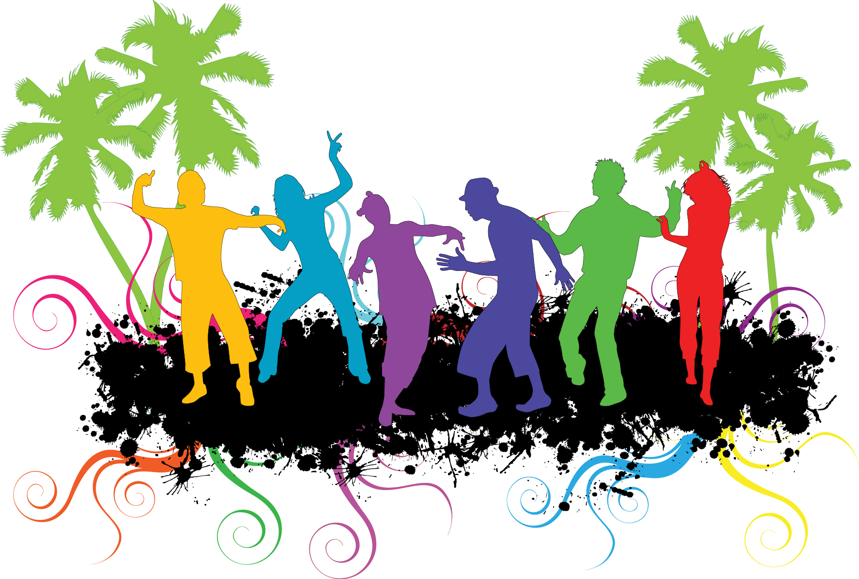 Dance Party Background Clipart Panda Free Clipart Images