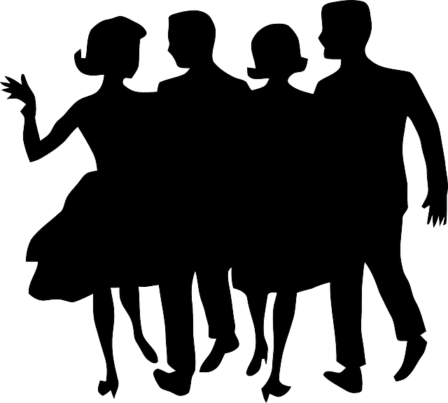 Party People Silhouette | Clipart Panda - Free Clipart Images
