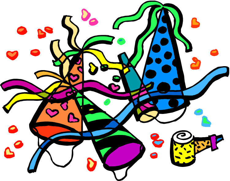 Moving Party Clip Art