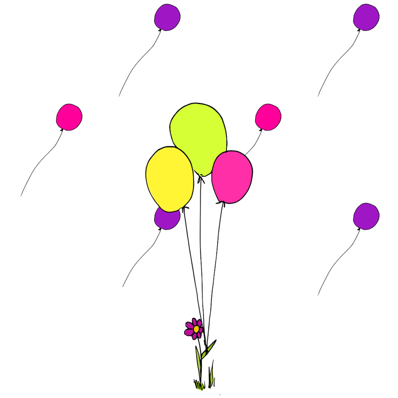 Balloon Graphics Clip Art
