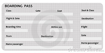 Boarding Pass Template Royalty | Clipart Panda - Free ...