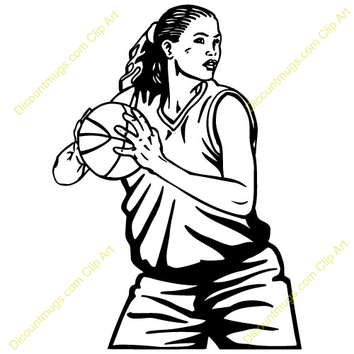 girl basketball player clipart clipart panda free clipart images rh clipartpanda com girls basketball clipart free girls basketball clipart free