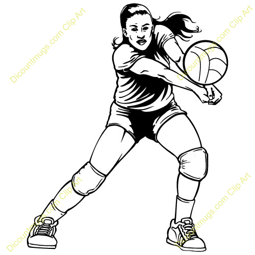 volleyball setting clipart - photo #23