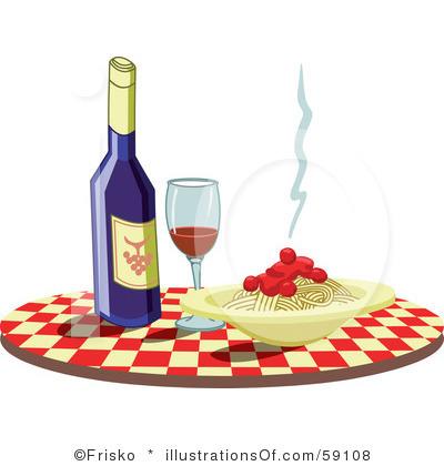 Pasta border clip art