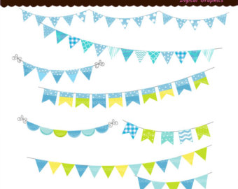 Pastel Bunting Clipart | Clipart Panda - Free Clipart Images