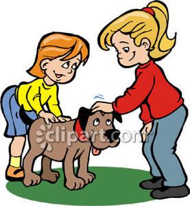 Petting Dogs Ears