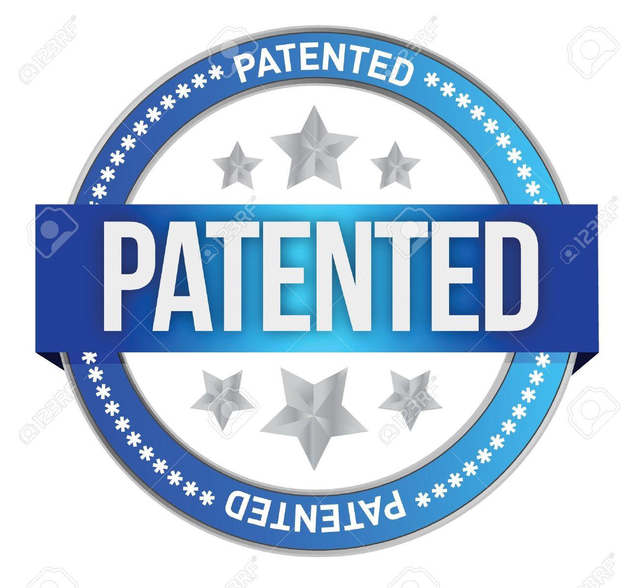 Intellectual Property Logo: Patent Free Clipart