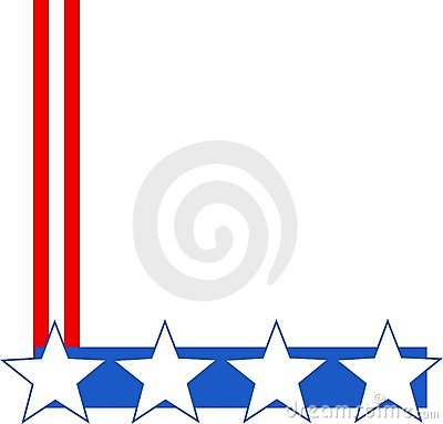 star top border clipart